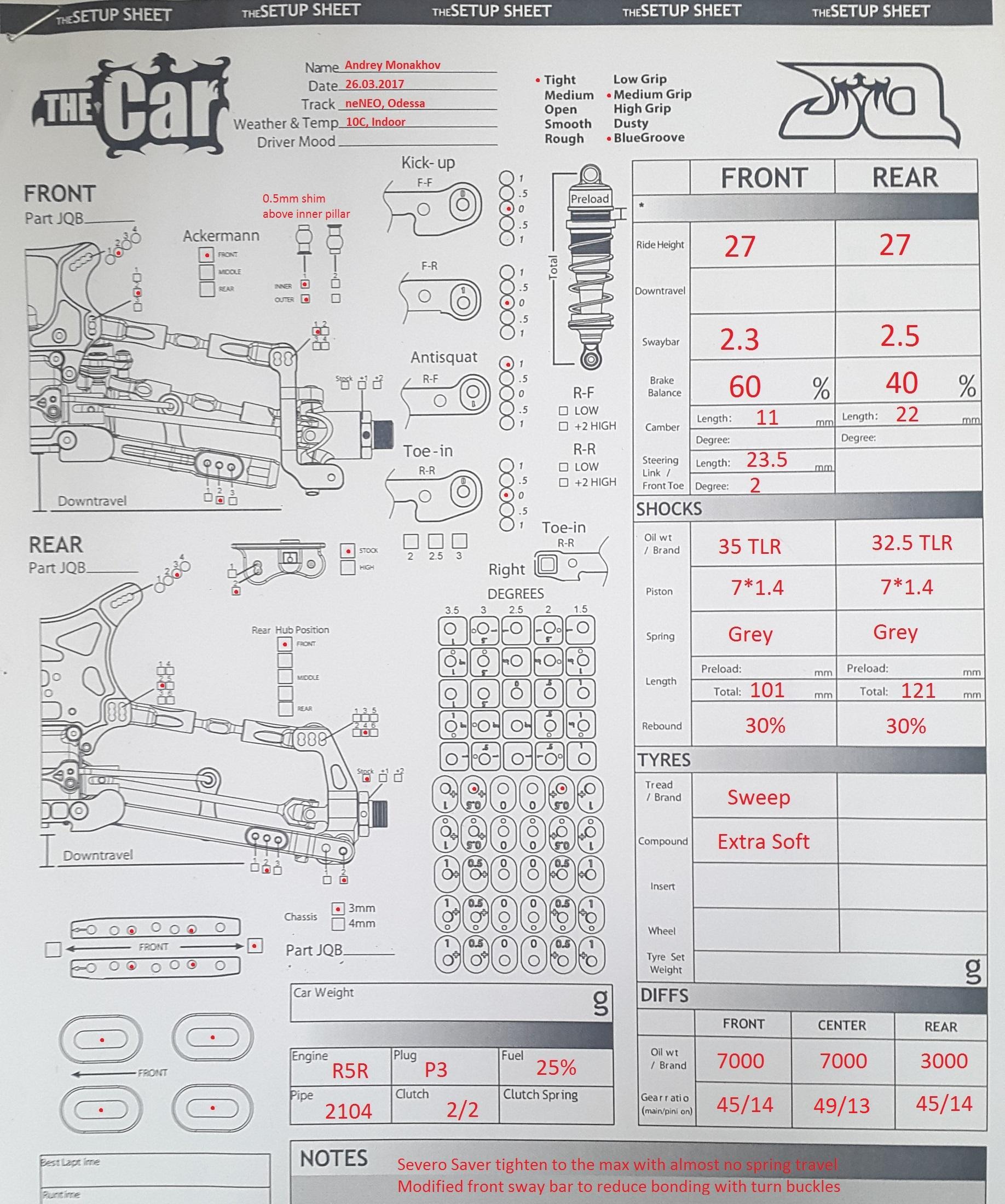 Model Setups :: RC Garage
